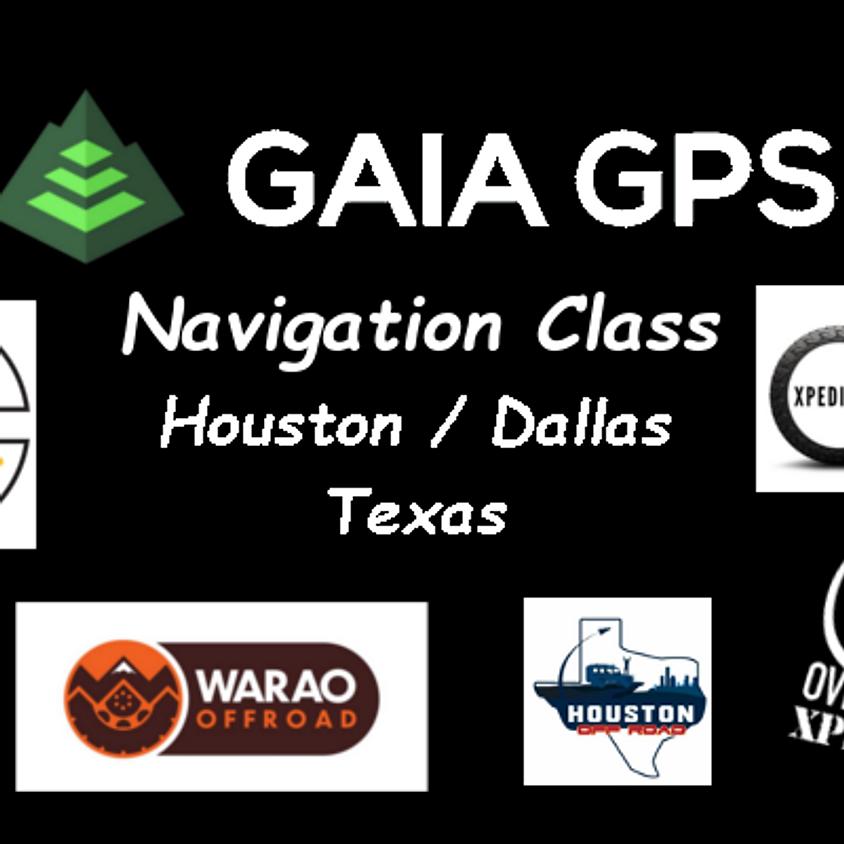 Gaia GPS Navigation Class / Houston & Dallas, Texas