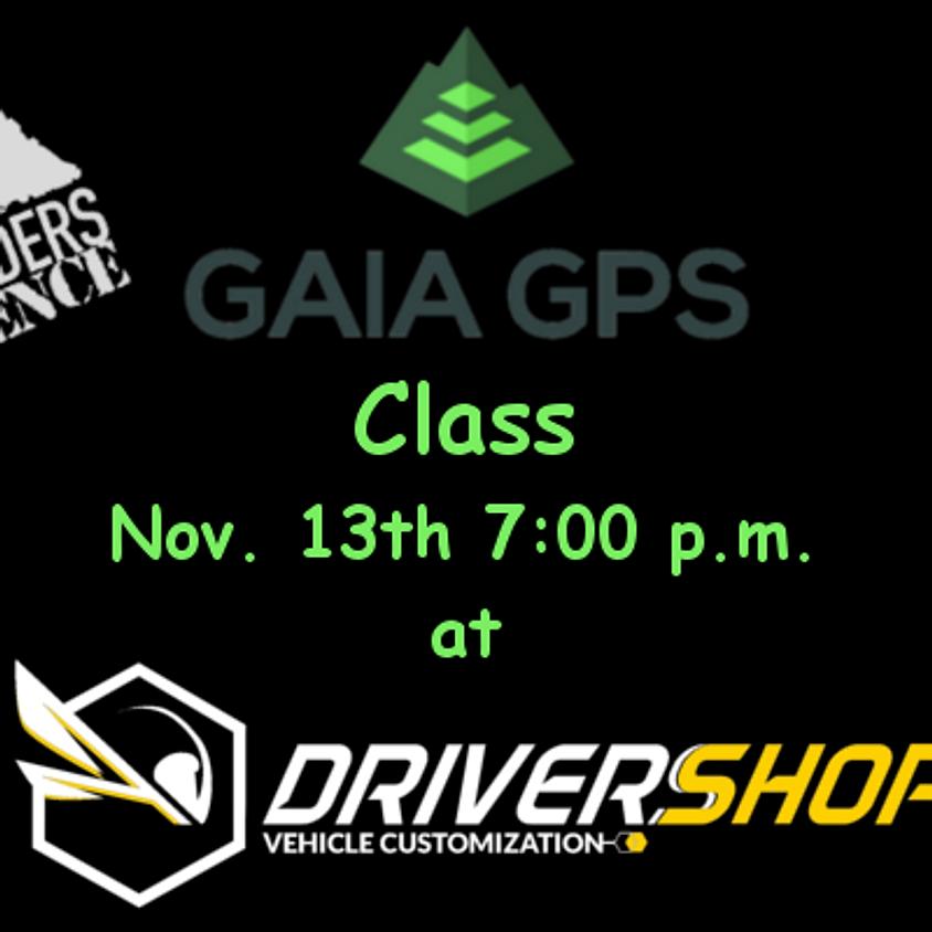 Gaia GPS Navigation Class