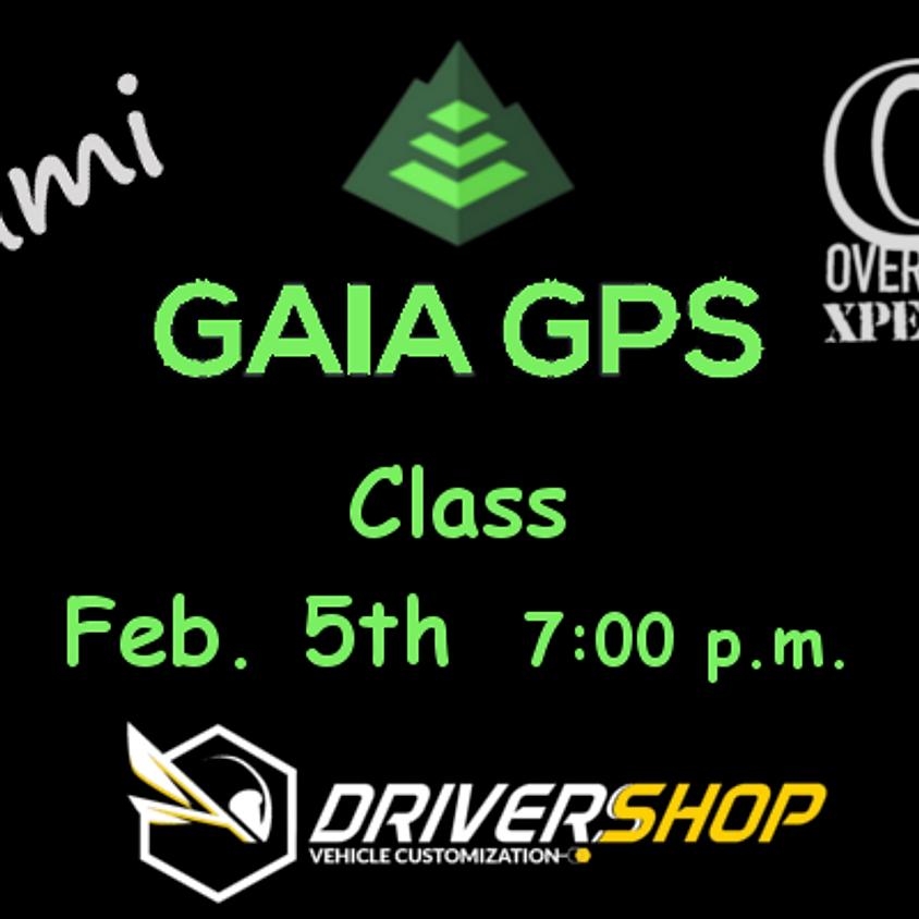 Gaia GPS Navigation Class / Miami