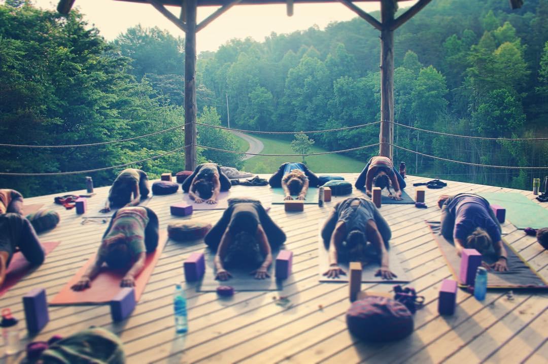 Yoga Class in Shala