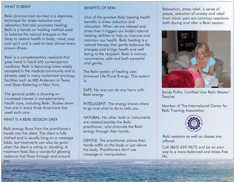 Reiki Brochure Inside