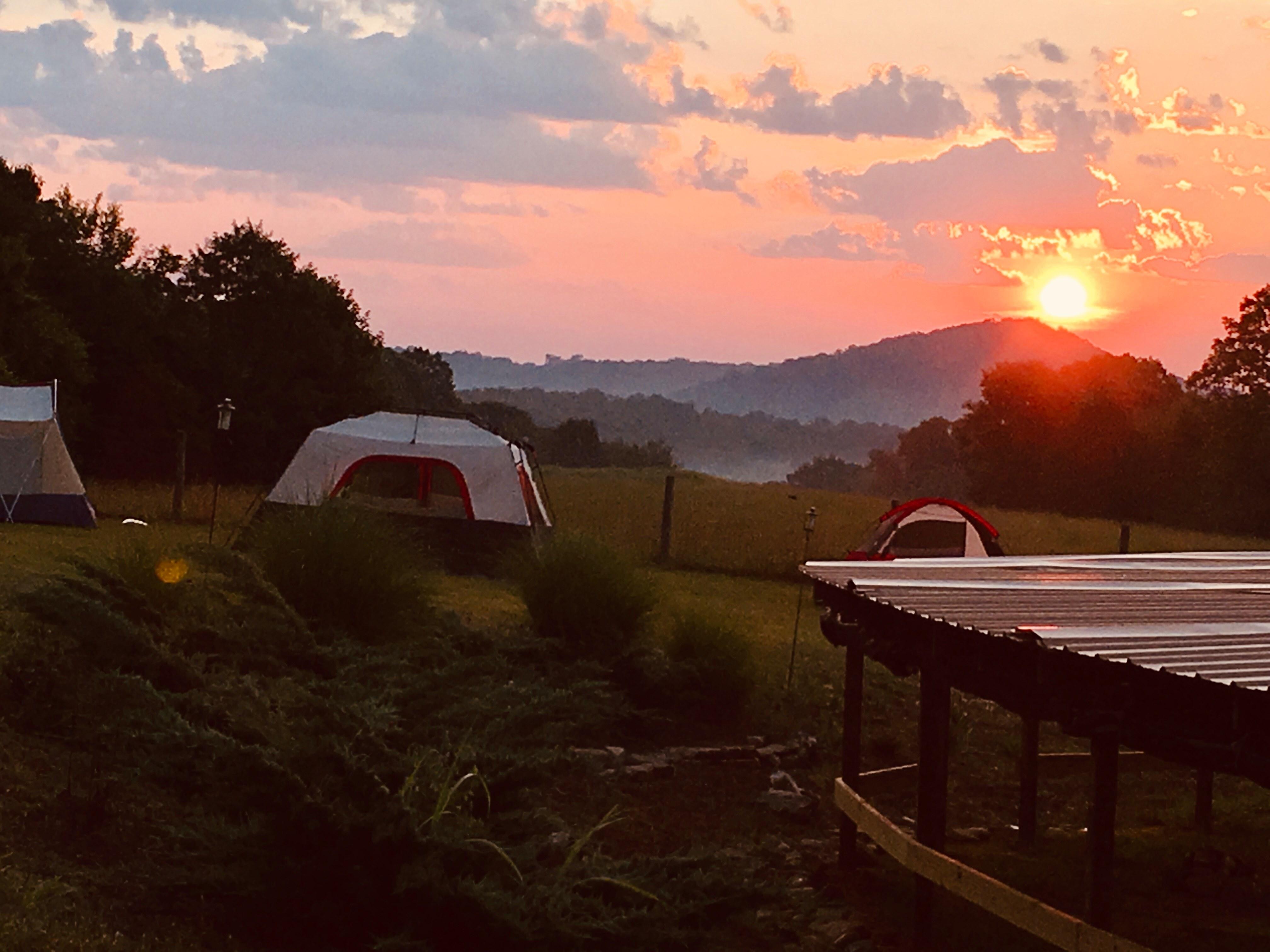 Sunset at Buckeye Farm