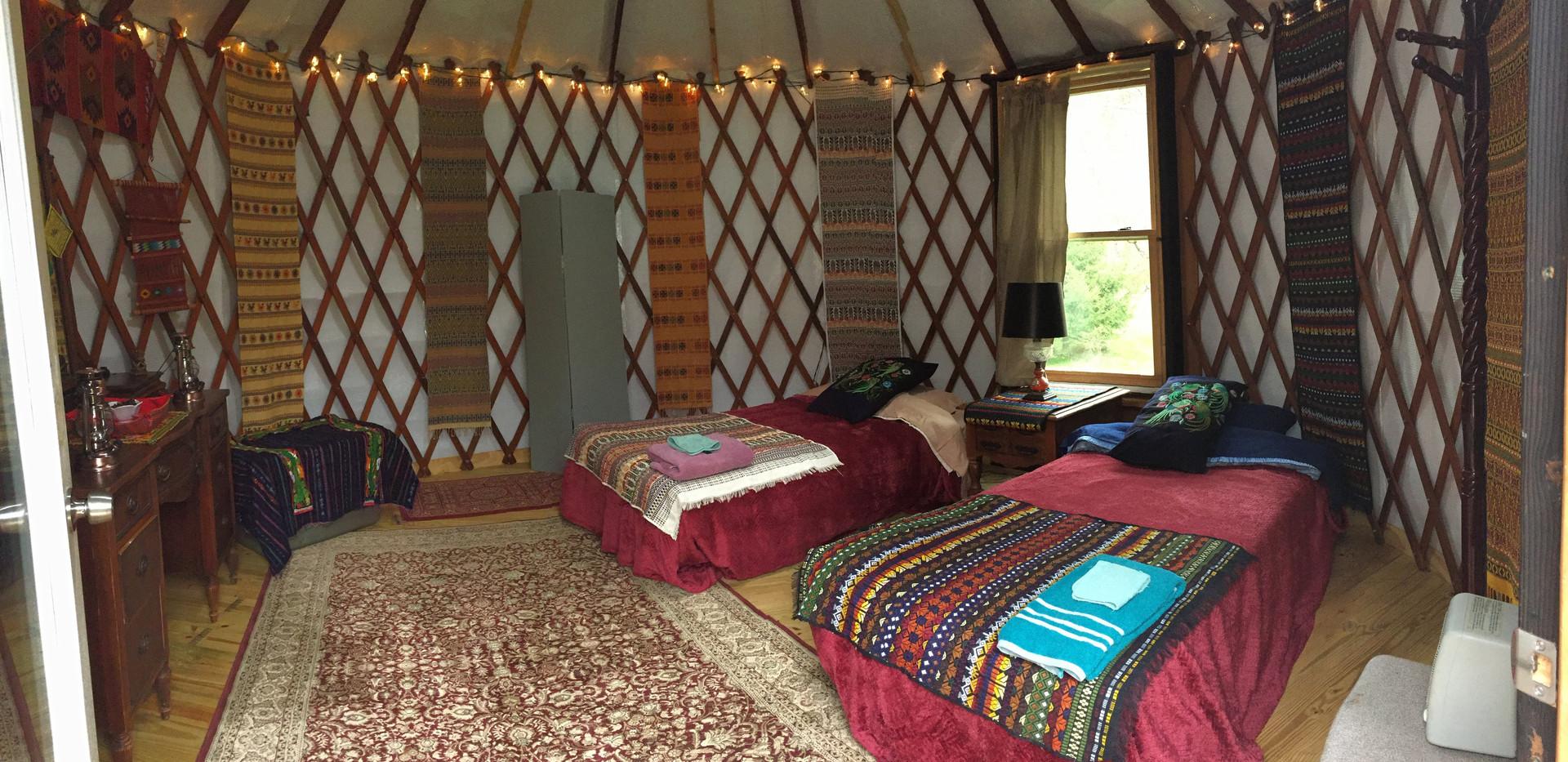 Yurt at Seven Springs Retreats