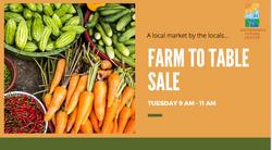 Farm To Table Sale