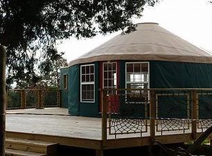 Buckey Farm yurt