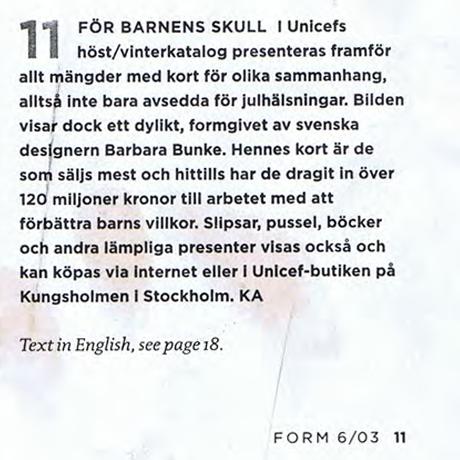FÖR BARNENS SKULL