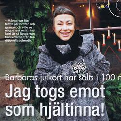 JAG TOGS EMOT SOM HJÄLTINNA!
