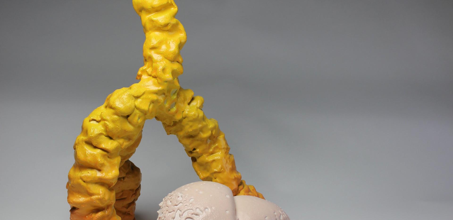 Big yellow and chicken skin