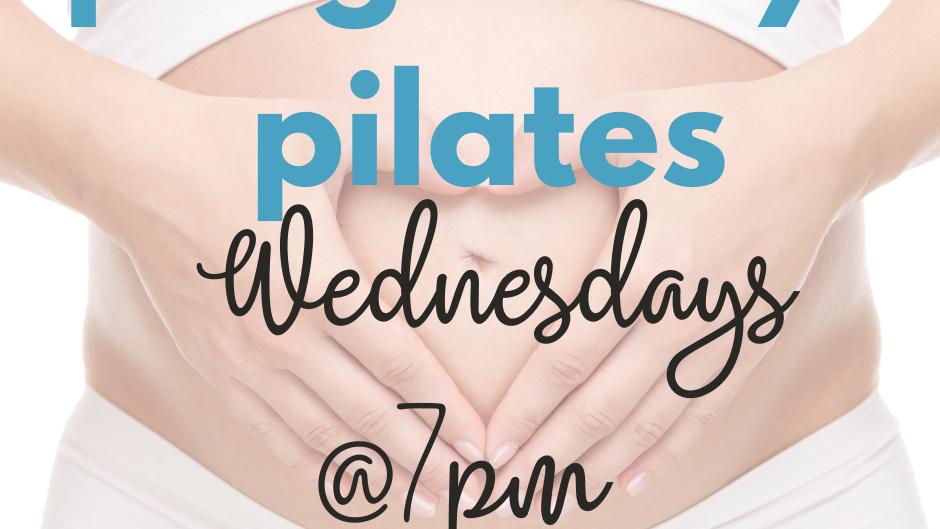 Pregnancy Pilates 4 Week Course