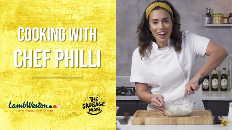 Cooking with Chef Philli