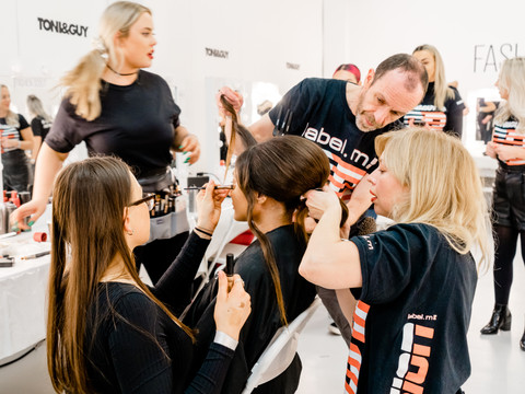 BTS Image at London Fashion Week 2020