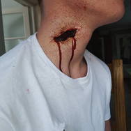 Fake Cut on the Neck