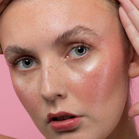 'Denude Cosmetics' Campaign