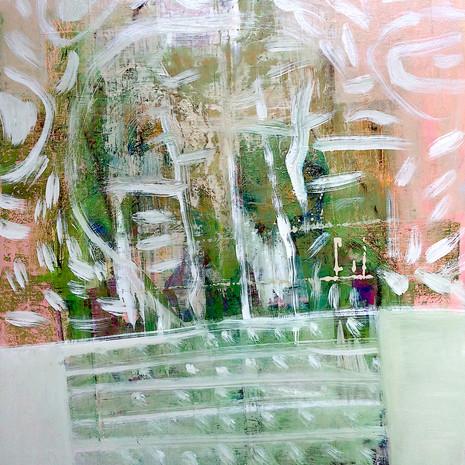 """""""Veil"""" An abstract landscape as seen through a veil"""