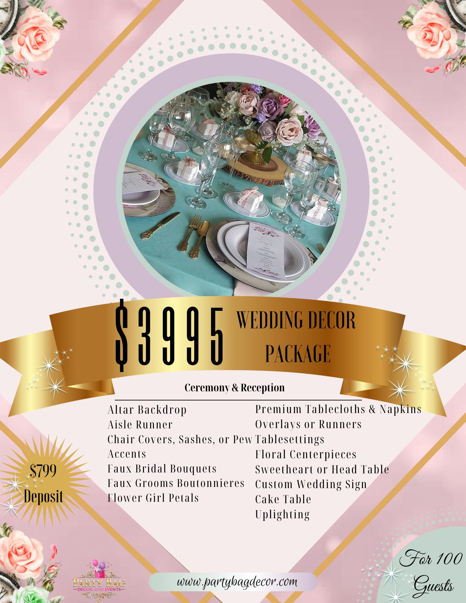 Wedding Decor Package-100