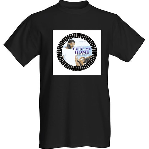Premium Black T-Shirt (Circle) S, M, L