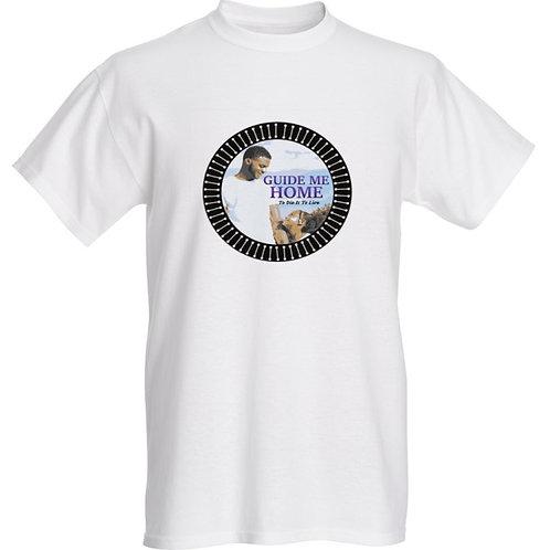 Premium White T-Shirt (Circle) S, M, L
