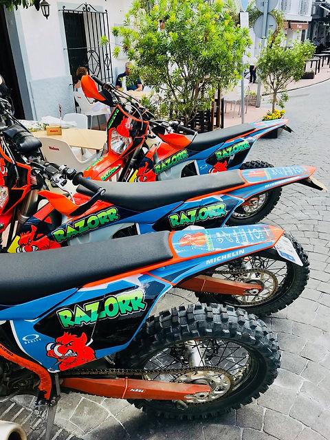 Our bikes Razorr spain