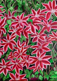 Glorious Spring (2021) Acrylic on canvas, 18x24