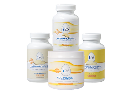 i26 stack, i26 powder, i26 for health, hyperimmune egg powder, digestive, immune, supplement