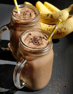 Choco-Nut Banana Shake