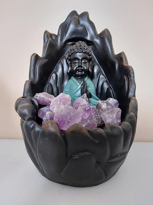 Fontaine Bouddha améthyste