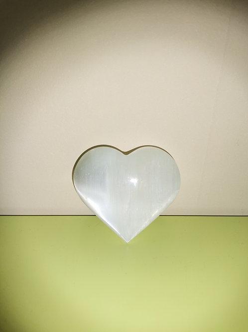 Petit coeur de selenite