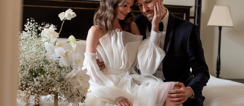 Выбор локаций для свадебной съёмки