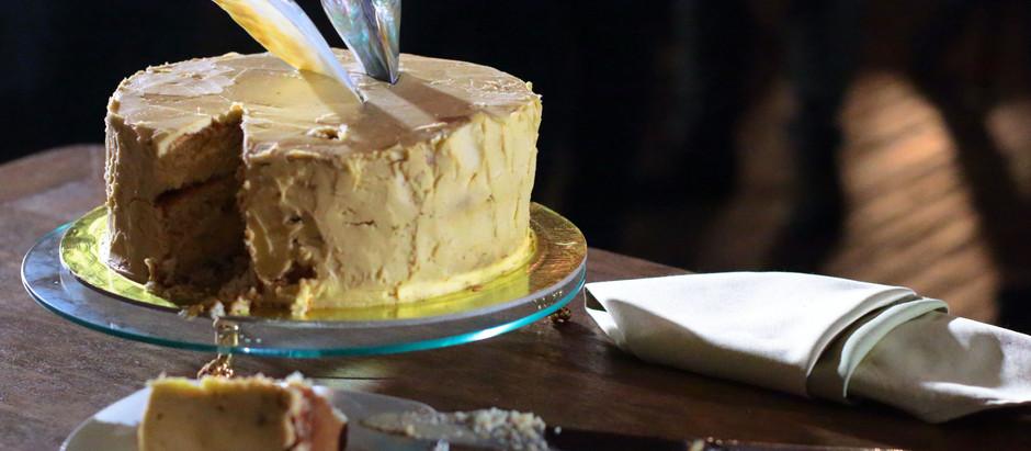 Авторский свадебный торт