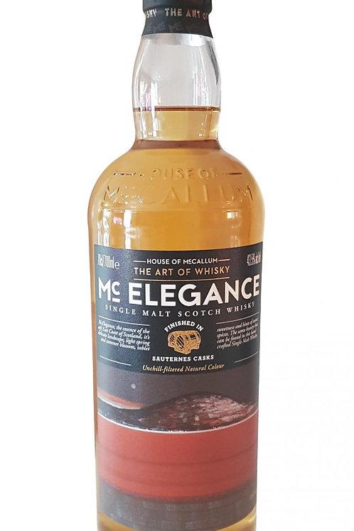 Mccallum Elegance 2009-11y Macallan Sauternes Finish 46,2%