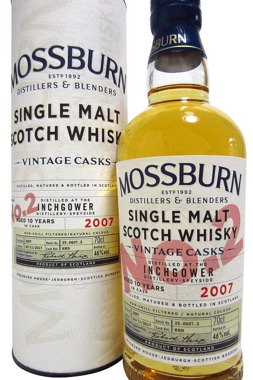 Inchgower 10y 46%  Mossburn