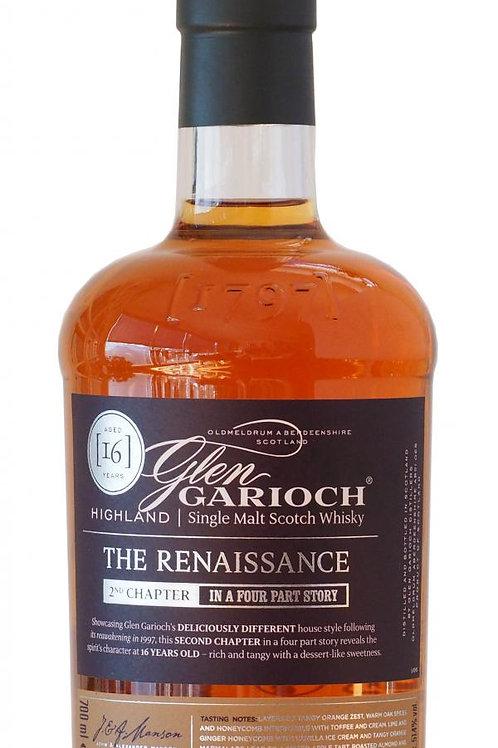 Glen Garioch The Renaissance 16y 2 nd. Ed. 2016  51,4%