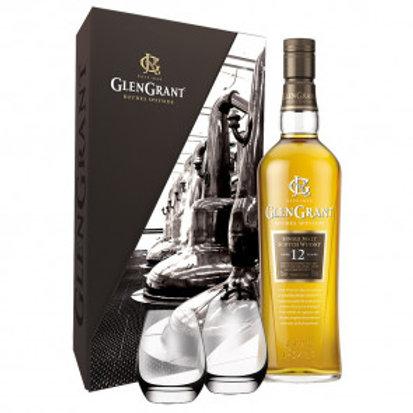 Glen Grant 12y + 2 glazen 43%