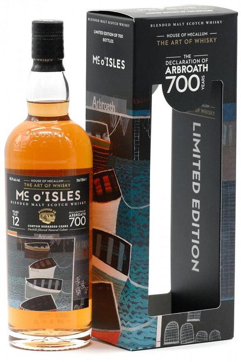 Mccallum O'Isles 2007-12y Blend Orkney Malt 46,2%