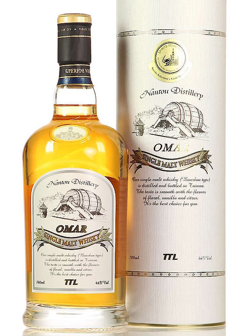 Omar Taiwanese Single Malt Bourbon cask 46%