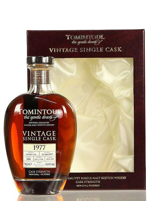 Tomintoul 1977 Vintage  Single Sherry Cask 54,9%40%