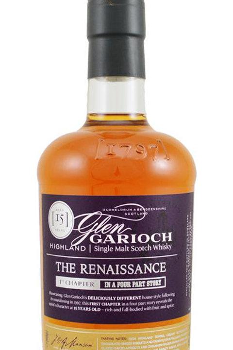 Glen Garioch The Renaissance 15y 1 st. Ed. 2014  51,9%