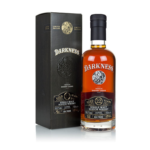 Darkness Aultmore 22y Oloroso sherry cask Finish 50,2%