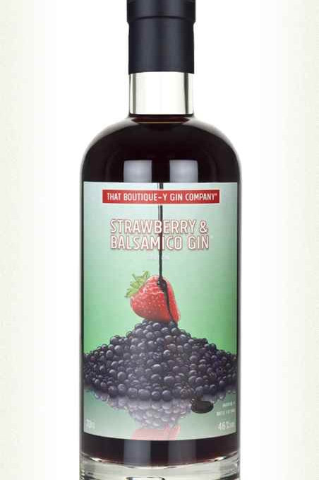Gin That Boutique-Y Strawberry & Balsamico 46%