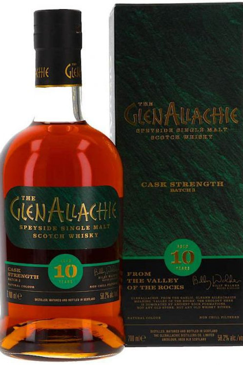 Glenallachie 10y Cask strength Batch 3-58,2%