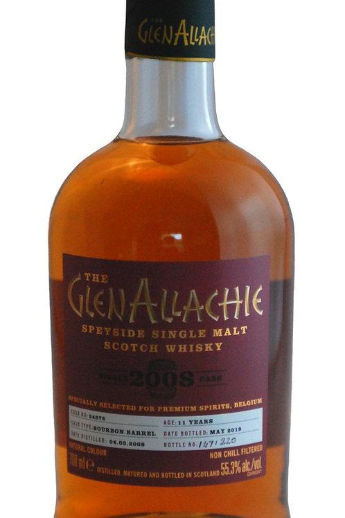 Glenallachie 2008 cask 24878 55,3%