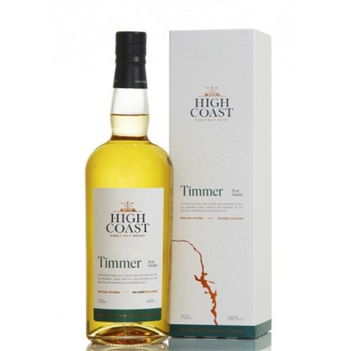 High Coast Timmer Peated 48%
