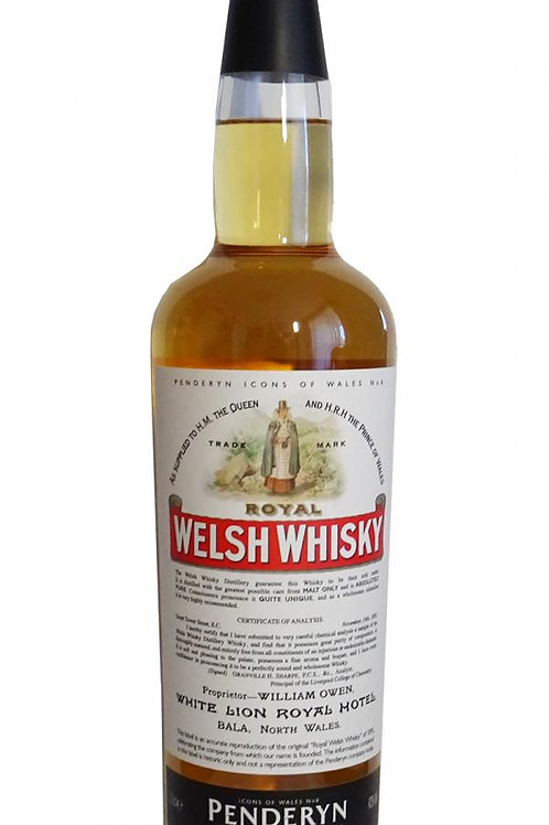 Penderyn Icon of Wales Royal Welsh 43%