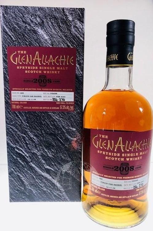 Glenallachie 2008 Virgin Oak single cask 469 57,3%