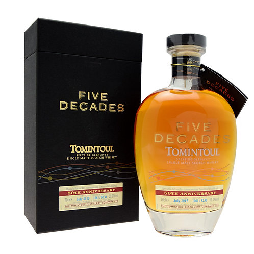 Tomintoul Five Decades 50%
