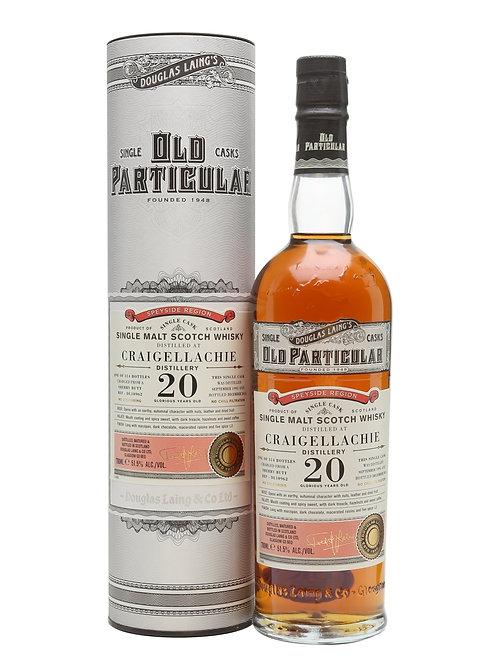 Douglas Laing' s Old Particular Craigellachie 199 20y Sherry Butt 51,5%