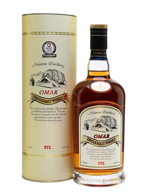 Omar Taiwanese Single Malt Sherry cask 46%