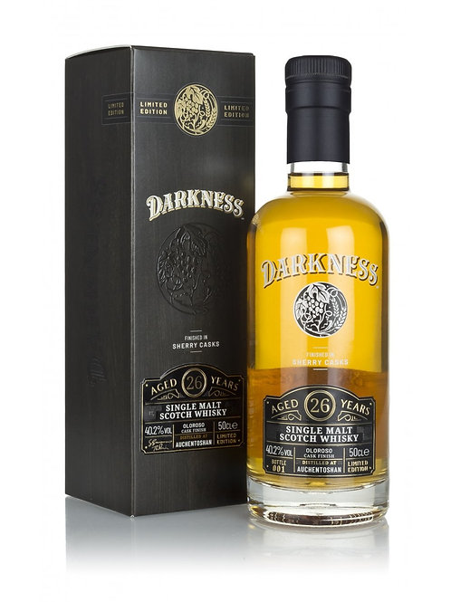Darkness Auchentoshan 26y Oloroso sherry cask Finish 40,2%