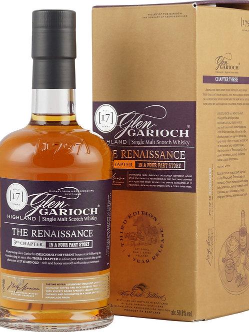 Glen Garioch The Renaissance 17y 3 rd. Ed. 2017  50,8%