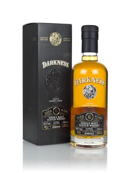 Darkness Benriach 6y Oloroso cask Finish 58,6%